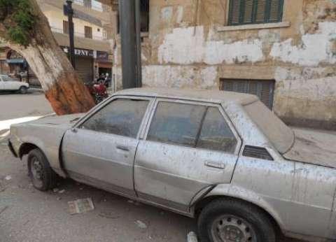 رفع 38 سيارة متروكة في الشوارع والطرق الرئيسية بالقاهرة
