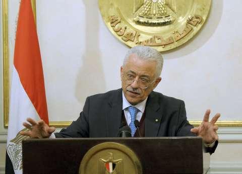 وزير التربية والتعليم والتعليم الفني ينعي ضحايا حادث قطار محطة مصر