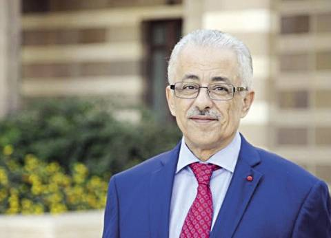 وزير التربية والتعليم يصل إلى مقر نقابة المهن التعليمية