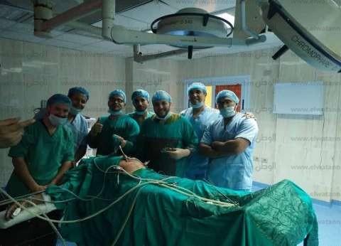 """إجراء عملية إصلاح """"فتق إربي"""" بالمنظار لأول مرة بمستشفى طور سيناء"""