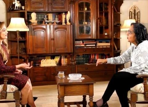 بالفيديو| لميس جابر: صناعة الدراما المصرية في خطر شديد