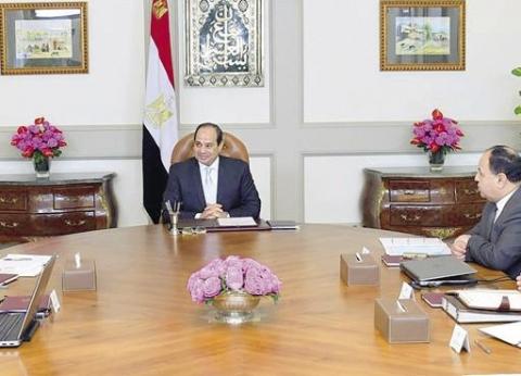 الرئيس يوجِّه بسرعة إنهاء ميكنة «التأمين الصحى الشامل» ببورسعيد