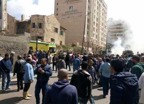 """""""الصحة"""": ارتفاع عدد المصابين في """"تفجير الإسكندرية"""" إلى 4 أشخاص"""