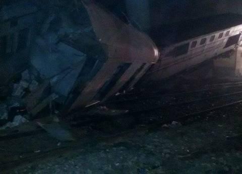 عاجل| التحفظ على سائق قطار بني سويف