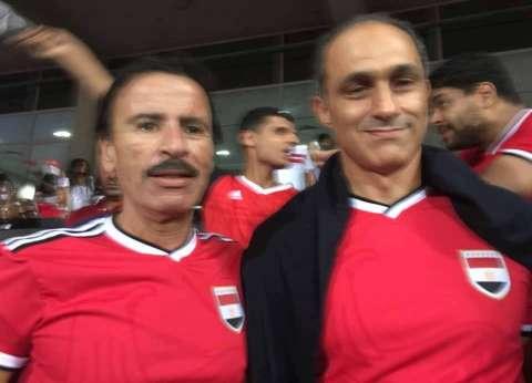 """""""أنا آسف ياريس"""" تنشر صورة جمال مبارك من مباراة التأهل"""