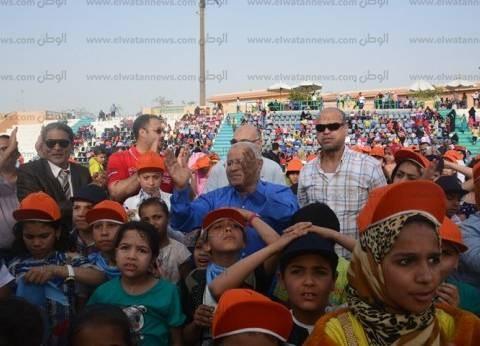 """جمعية """"أرض الكنانة"""" تشارك باحتفالات كفرالدوار بيوم اليتيم في البحيرة"""