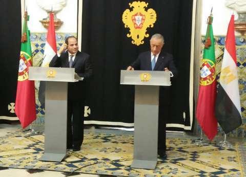 السيسي يستقبل اليوم الرئيس البرتغالي في الاتحادية