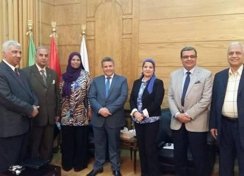 تعاون علمي وأكاديمي بين جامعة بنها والجامعات الليبية