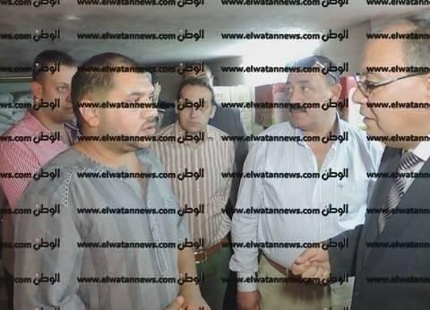 بالصور| مدير أمن كفر الشيخ ومدير المباحث يقودان حملة تموينية