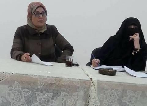 """المجلس القومي للمرأة ببورسعيد يطلق """"صوتك لمصر بكرة """" بحي الزهور"""