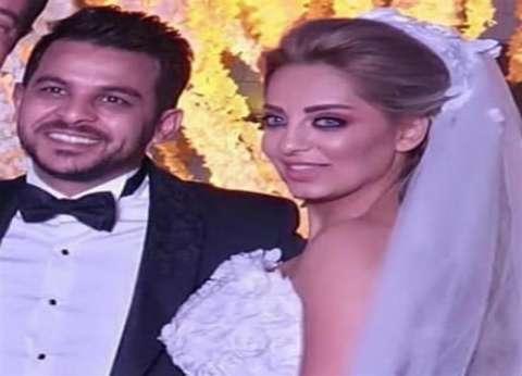بالصور  كواليس لقاء مي حلمي وزوجها محمد رشاد مع عمرو أديب