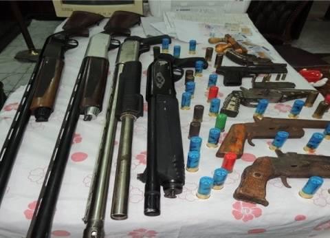 القبض على 5 بحوزتهم أسلحة وطلقات نارية في البحيرة