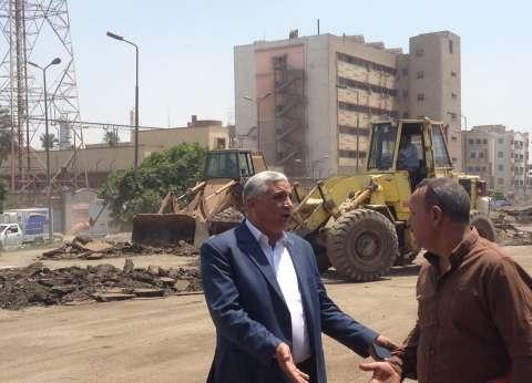 استعادة 4 آلاف متر من أرض أملاك الري بحي شرق شبرا