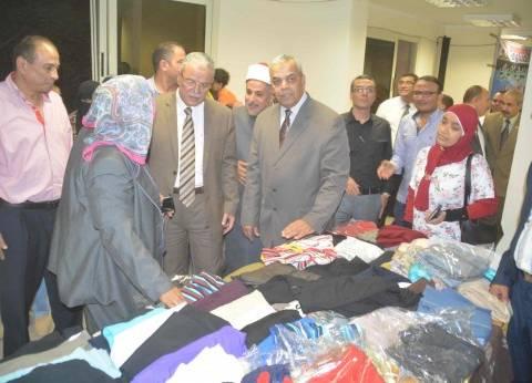 """افتتاح معرض """"بيت العائلة"""" الخيري لملابس العيد بالمجان في المنيا"""