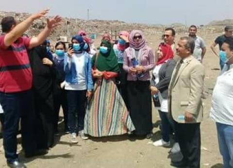 """زيارة ميدانية لمصنع أبو جريدة في ختام فعاليات مبادرة """"من أجلك"""" بدمياط"""