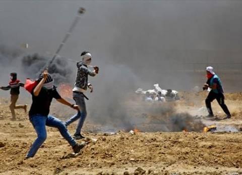 إصابة 35 فلسطينيا بنيران الاحتلال خلال مظاهرات على الحدود الشرقية لغزة