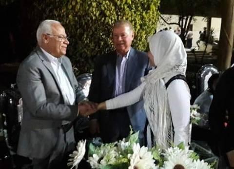 محافظ بورسعيد يشارك نزيلات دار الفتيات القاصرات الإفطار