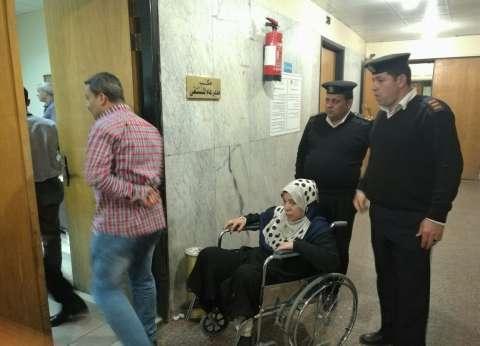 """بالصور  """"أمن القاهرة"""" يلبي استغاثة سيدة قعيدة وزوجها"""
