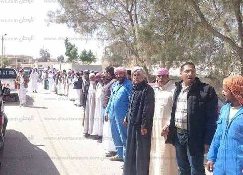 """نائب مطروح: حراس بوابة مصر الغربية سيثبتون للعالم أننا """"يد واحدة"""""""