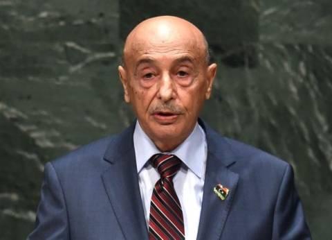 """رئيس البرلمان الليبي يعزي """"السيسي"""" و""""أولاند"""" في حادث الطائرة المنكوبة"""