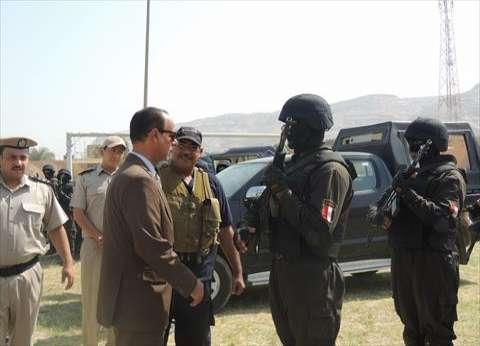 12 ألف فرد شرطة و180 مجموعة قتالية و12 وحدة فض شغب لتأمين الانتخابات بسوهاج