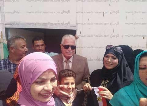 محافظ جنوب سيناء يتفقد اللجان الانتخابية بمدينتي دهب ونويبع