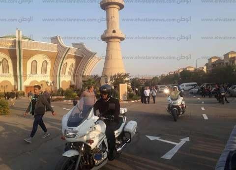 بالصور| أداء صلاة الجنازة على العميد ساطع النعماني بمسجد الشرطة