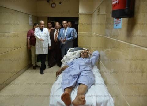 """""""الموت علينا حق"""".. مستشفى طوارئ المنصورة: """"لا مكان لأحد"""""""