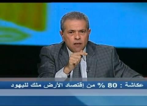 """توفيق عكاشة: """"ما بخافش غير من ربنا.. لا حكومة ولا دولة"""""""