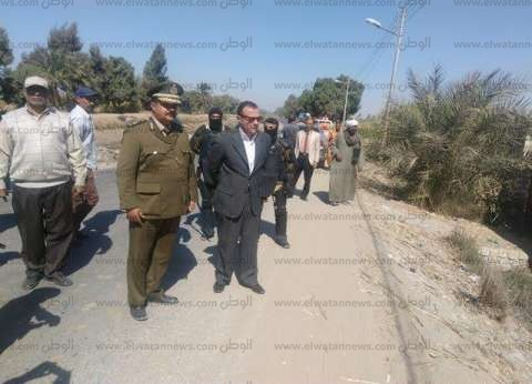 سكرتير عام محافظة قنا يقود حملة لاسترداد 110 فدادين مملوكة للدولة