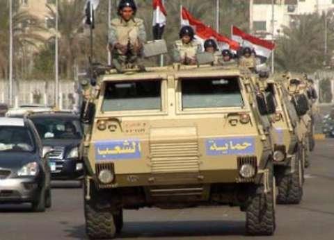 بـ«أغنيات وطنية».. سيارات الجيش تحتفل بـ«ذكرى أكتوبر» في مصر الجديدة