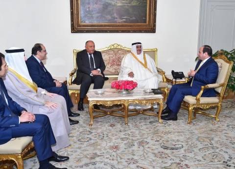 السيسي: أمن واستقرار البحرين ومنطقة الخليج جزء لا يتجزأ من أمن مصر