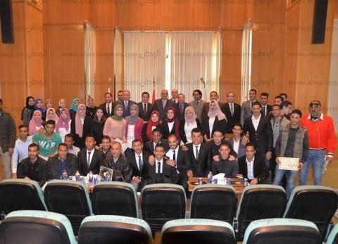 ختام فعاليات أسبوع المشاركة السياسية في الانتخابات الرئاسية بالمنصورة