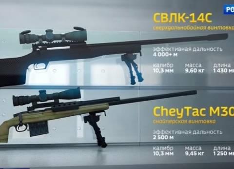 بالفيديو| شركة روسية تبتكر بندقية قنص تتجاوز الأمريكية