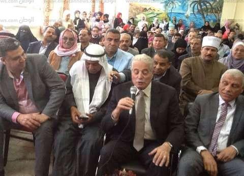 محافظ جنوب سيناء: تخصيص قطعة أرض لإقامة مسرح لرعاية الموهوبين