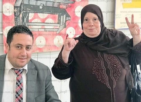 رئيس لجنة بمدينة نصر: إقبال كثيف على التصويت
