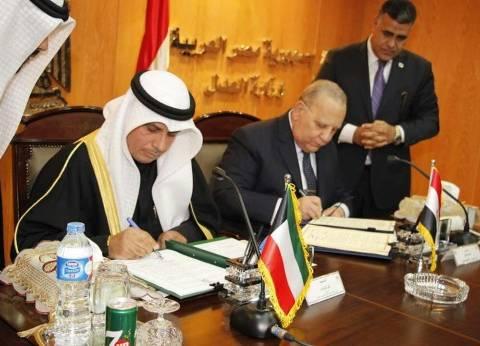 بالصور| وزير العدل ونظيره الكويتي يوقعان اتفاقية في التعاون القضائي