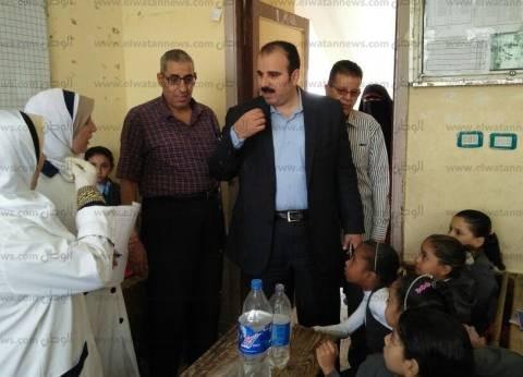 """""""صحة الشرقية"""": تطعيم 939 ألف طالب ضد الديدان والطفيليات المعوية"""