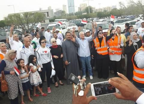 بالصور| الكنيسة توفر أتوبيسات لنقل الأقباط لمقار لجان التصويت بالكويت