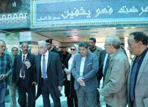 """محافظ جنوب سيناء يشكر """"مميش"""" لإهدائه مستشفى الطور جهاز تفتيت الحصوات"""