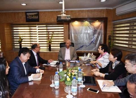 حجازي يقترح برتوكول تعاون مع شركة سيارات كهربائية صينية