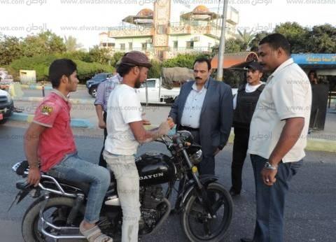 الأمن العام يضبط 429 دراجة نارية دون لوحات مرورية