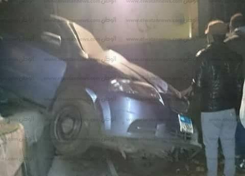 إصابة شخص إثر تصادم قطار بسيارة ملاكي في الدقهلية