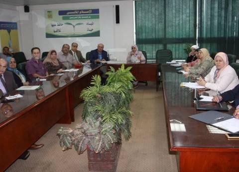 رئيس قطاع التخطيط تناقش مشروعات الخطة الاستثمارية للوزارة