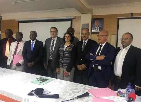 سفيرة مصر في بوروندي تشهد توقيع عقد إنشاء محطة طاقة كهرومائية