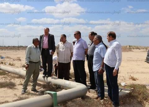 بالصور| محافظ كفر الشيخ يتفقد موقع إنشاء القرية الأوليمبية
