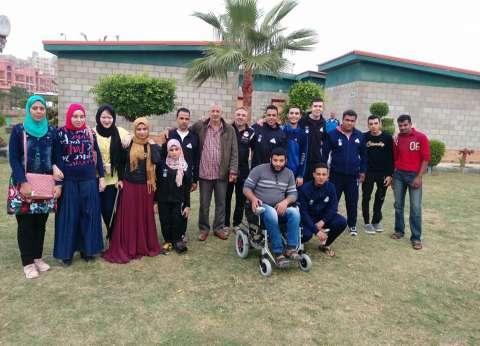 """جامعة المنوفية تحصد 9 ميداليات في لقاء """"متحدي الإعاقة"""" بالإسكندرية"""