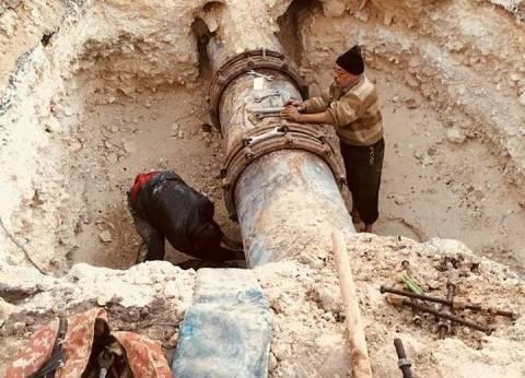 عودة مياه الشرب لغرب الإسكندرية بعد انقطاع دام 12 ساعة