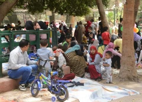 28 ألف زائر لحديقة الحيوان في أول أيام العيد