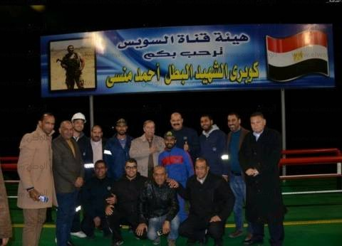 محافظ الإسماعيلية يتفقد حركة العبور على كوبري الشهيد أحمد منسي العائم